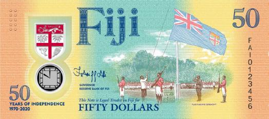 50 dolarów Fidżi