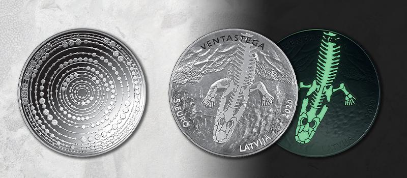 Łotwa moneta kolekcjonerska